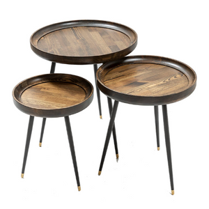 SPRING COFFEE TABLE SET OF 3