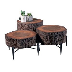 DUNLOB COFFEE TABLE SET OF 3