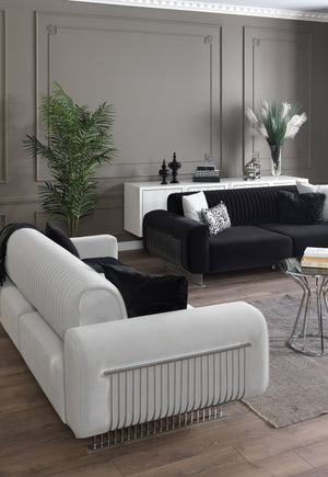 NIRVANA SOFA SET 3+3+1