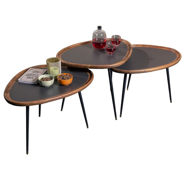 NEWTON D COFFEE TABLE SET OF 3