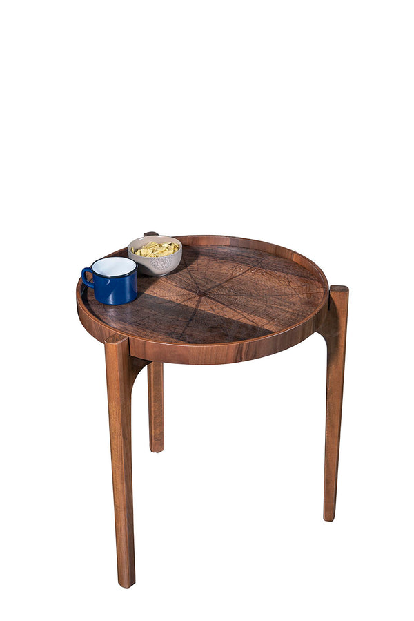REAL SIDE TABLE