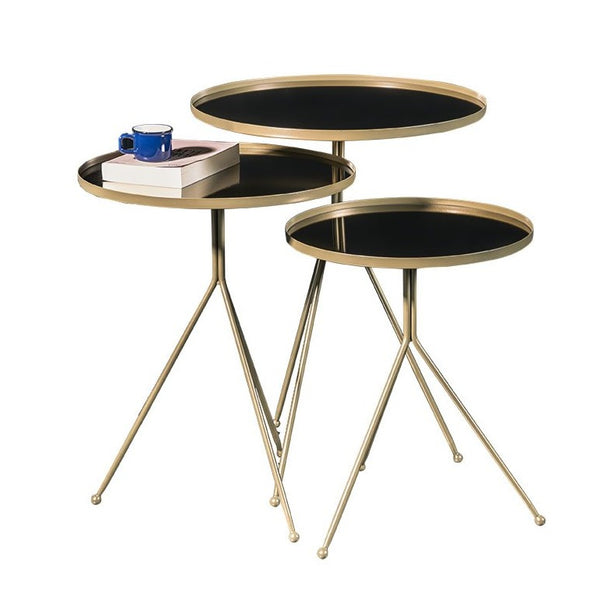 REFLECTION SIDE TABLE SET OF 3