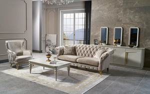 SAFIR SOFA SET 3+3+1