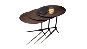 BOLERO COFFEE TABLE SET OF 3