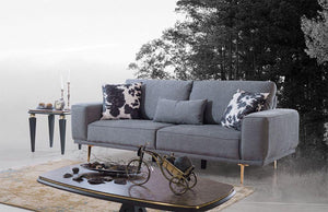 CADILLAC SOFA SET 3+3+1