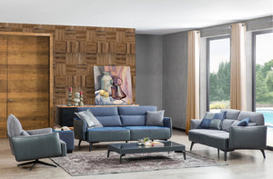 Fama Sofa Set 3+2+1+Pouf