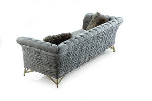 LUXURY DAMLA SOFA 3 SEATER