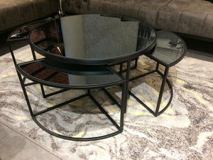 AELA  CENTER TABLE & 4 SIDE TABLE