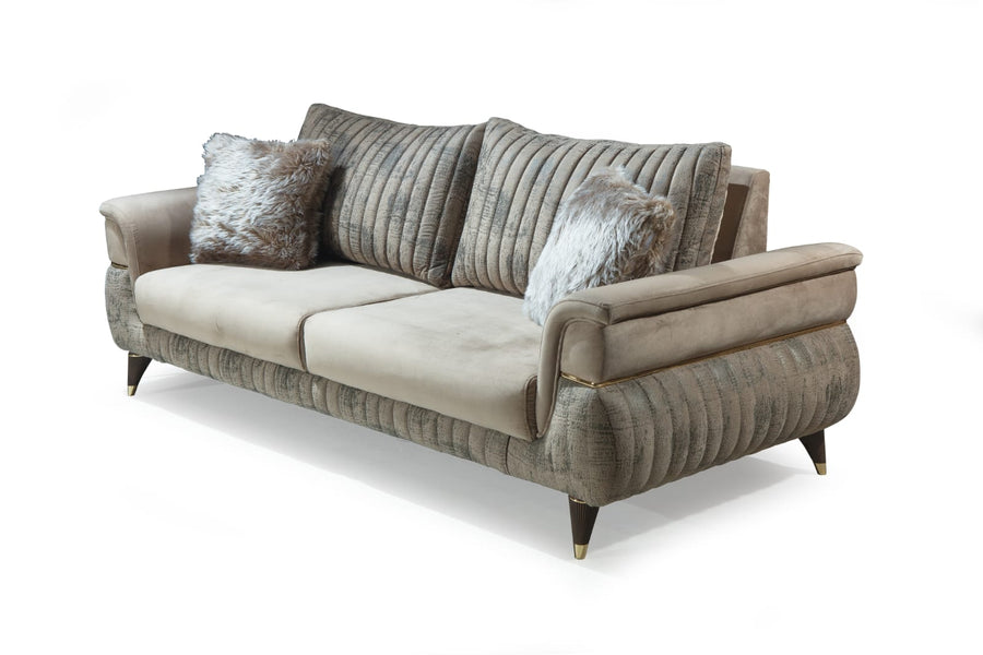 CARMEN SOFA SET 3+3+1