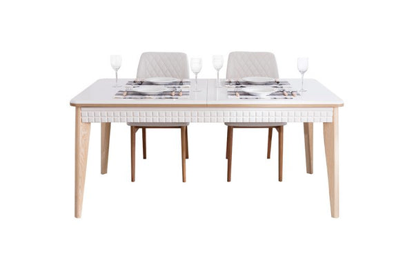 LAMONZ DINING TABLE + 6 CHAIRS, LAMONZ DINING TABLE + 6 CHAIRS, La Vida Furniture
