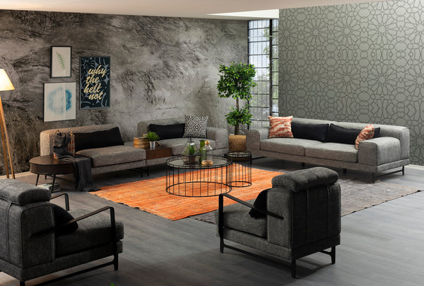 NOVANA SOFA SET 4+3+1