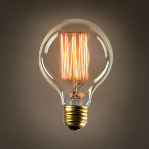 VINTAGE EDISON DESIGN BUBBLE BULB