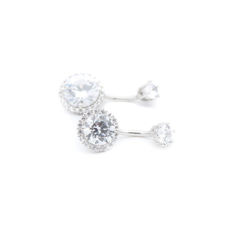"Small Halo Belly Ring | 6mm 1/4"" 8mm 5/16"" 10mm 3/8"" - Sturdy South"