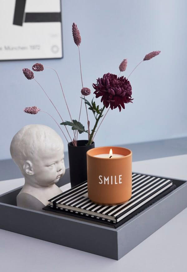 Scented Candle Large - Smile