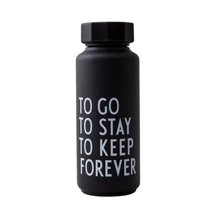 Thermo/Insulated Bottle, Special Edition - Black