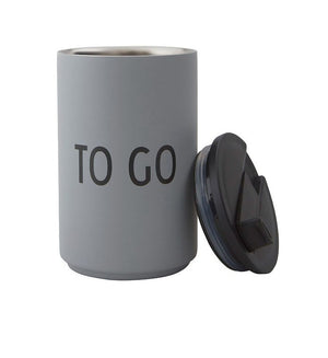 THERMO/INSULATED CUP TO GO - GREY