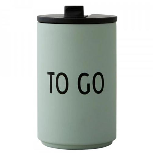 THERMO/INSULATED CUP TO GO - GREEN