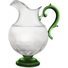 PITCHER VICTORIA CLEAR + GREEN