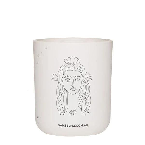 AQUARIUS - LARGE CANDLE
