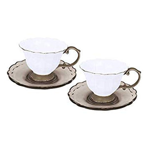 SET 2 COFFEE CUP TAUPE