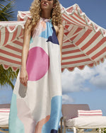 BERMUDA DRESS IN SEVEN WONDERS
