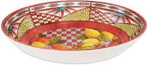 OVAL SERVING BOWL BAROQUE ORANGE