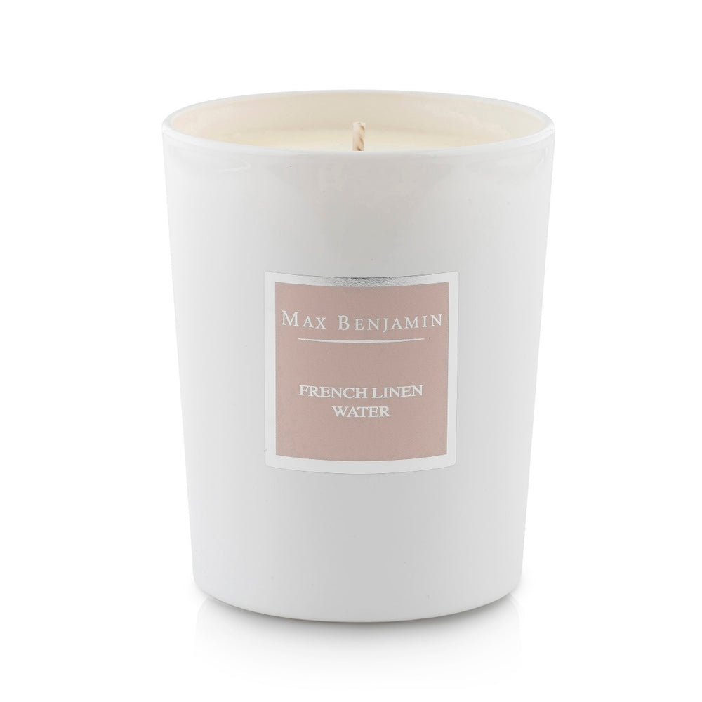 French Linen Water Luxury Natural Candle