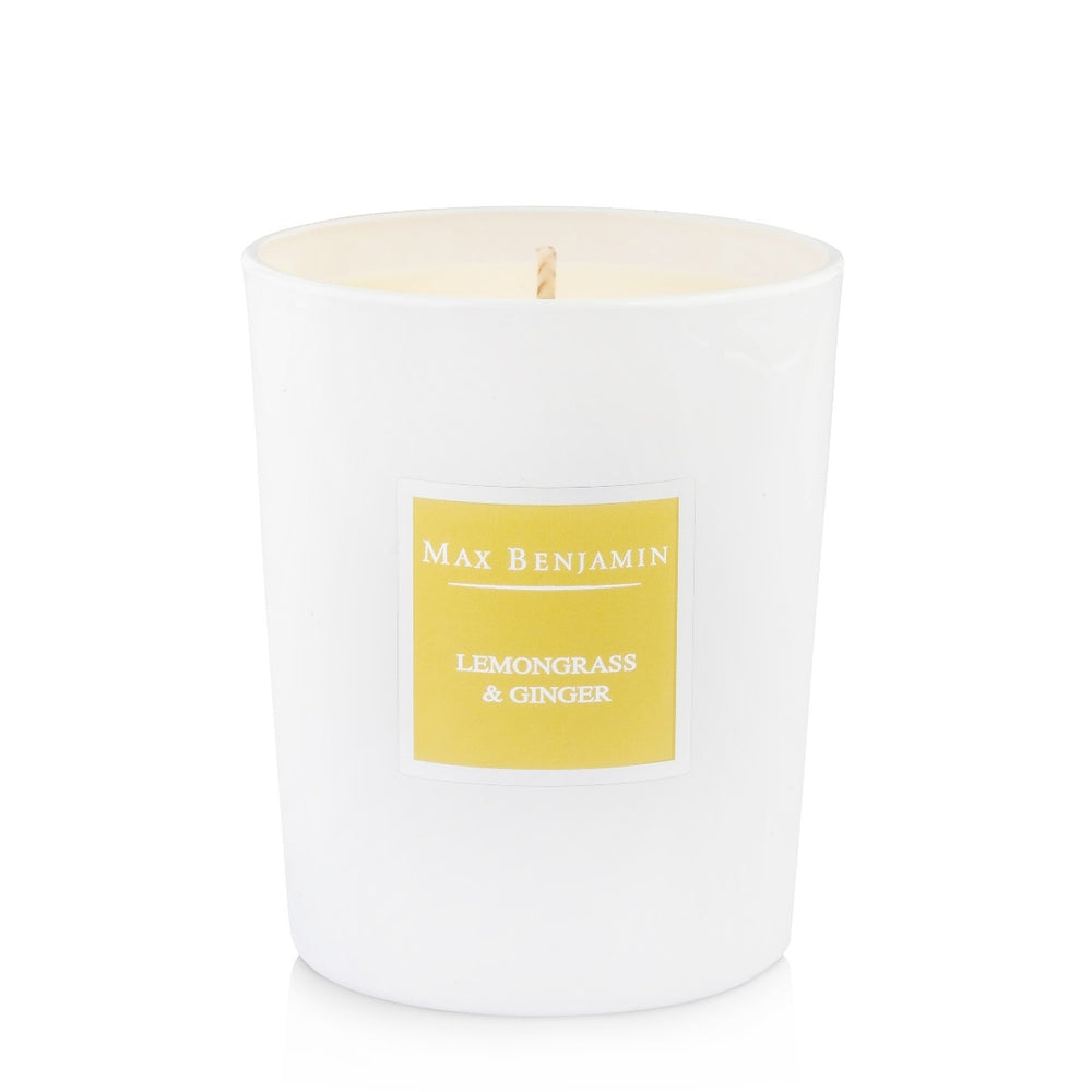Lemongrass & Ginger Luxury Natural Candle