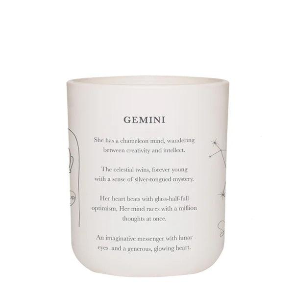 GEMINI - LARGE CANDLE