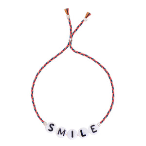 Glass Letter Collecton - SMILE