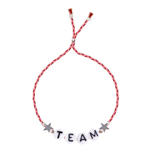 Glass Letter Bracelet - ★ TEAM ★