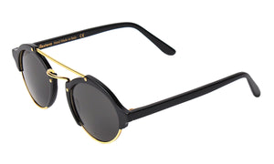 Milan Sunglasses - Black/Grey