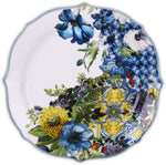 DESSERT PLATE PORCELAIN SET OF 6PCS- OCEAN