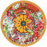 DINNER PLATE SET OF 6PCS - CORAL