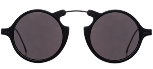 Roma II Sunglasses - Matte Black/Grey Flat