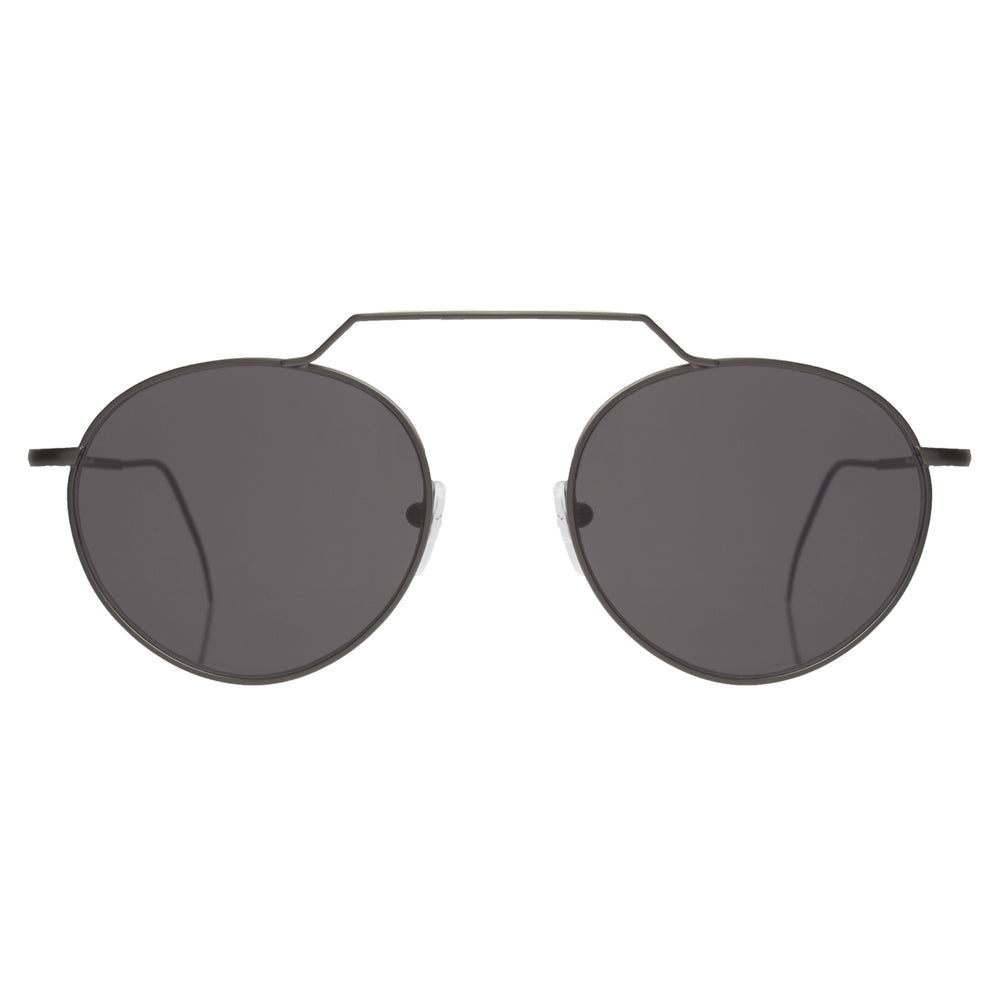 Wynwood II Sunglasses - Matte Gunmetal/Grey Flat