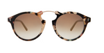 Sullivan Sunglasses - Rainbow Tortoise/Black/Gold Mirror Gradient