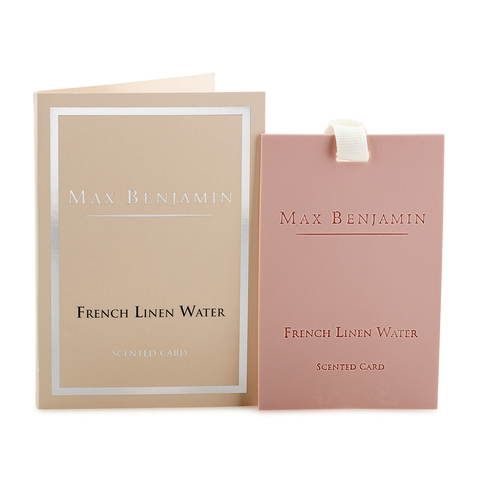French Linen Water Luxury Scented Card