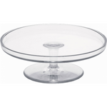 CAKE STAND CM 29,7X10,3 CLEAR