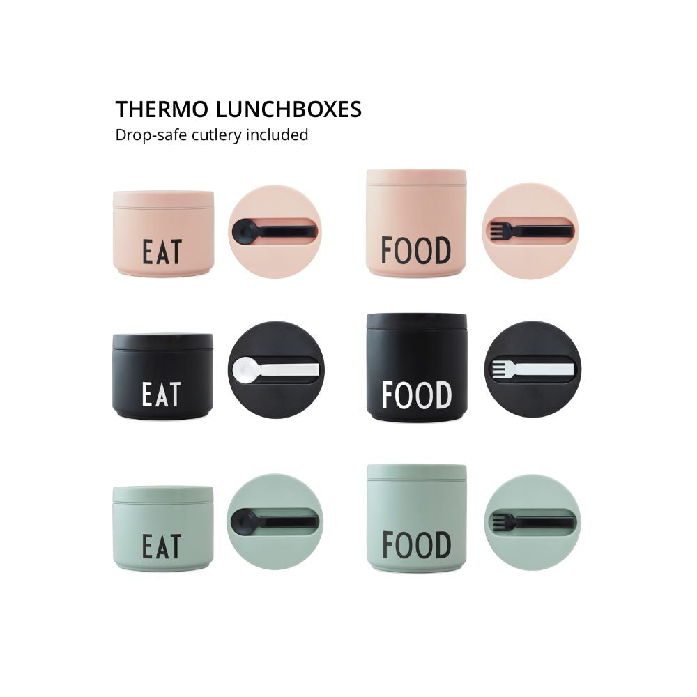 Thermo Lunch Box, Large - Nude