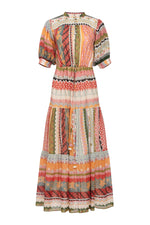 Tarahumara Dress - Multi Stripe