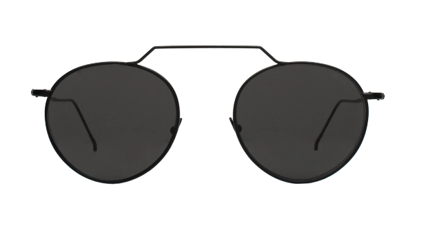 Wynwood II Sunglasses - Black/Grey Flat