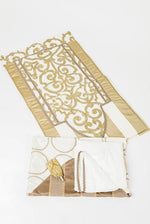 Prayer Carpet Set - Gold