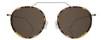 Wynwood Ace Sunglasses  - Tortoise/Silver/Grey Flat Mirror