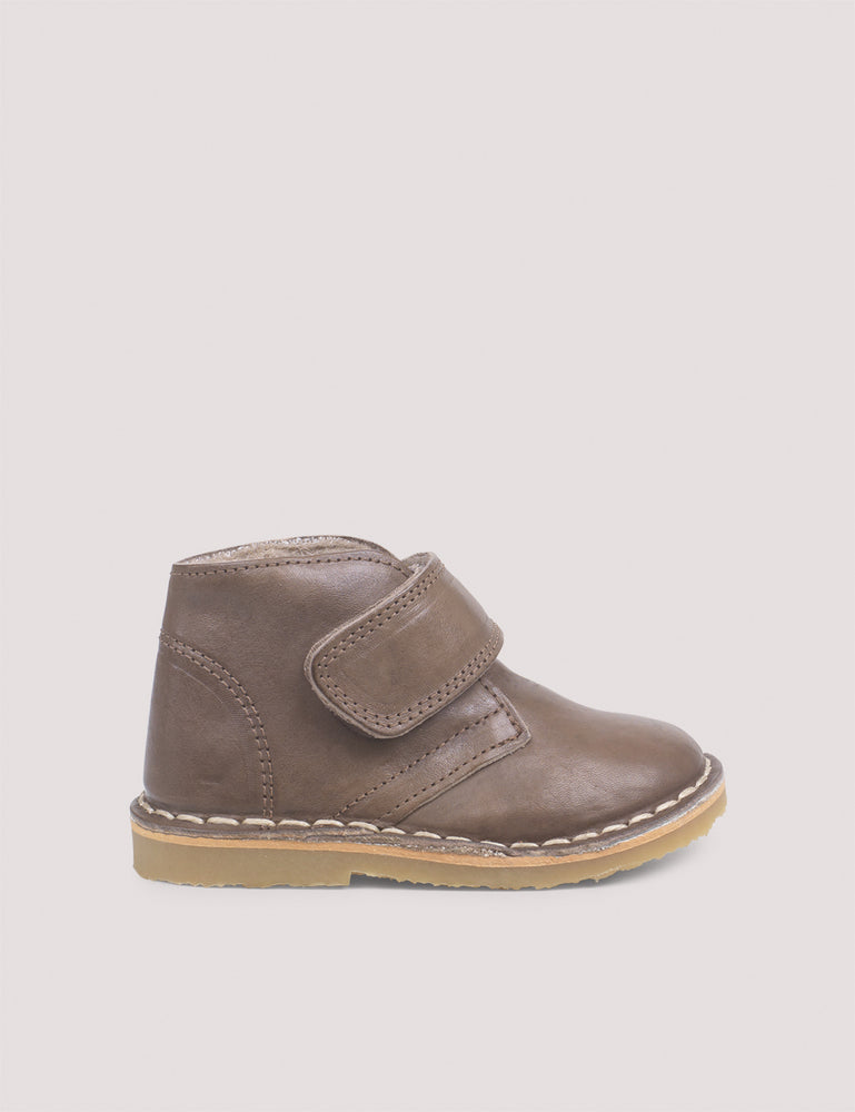 Desert Winter Boot, Velcro - Taupe