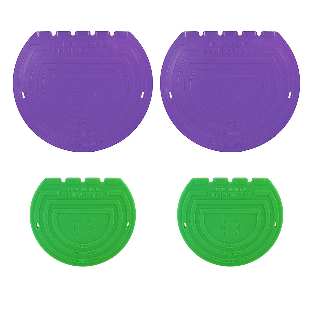 Magnetic Shooting Targets (Combo Pack) - Limited Edition Purple