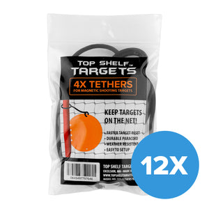 (12 PACK) Target Tethers 4 Pack Set