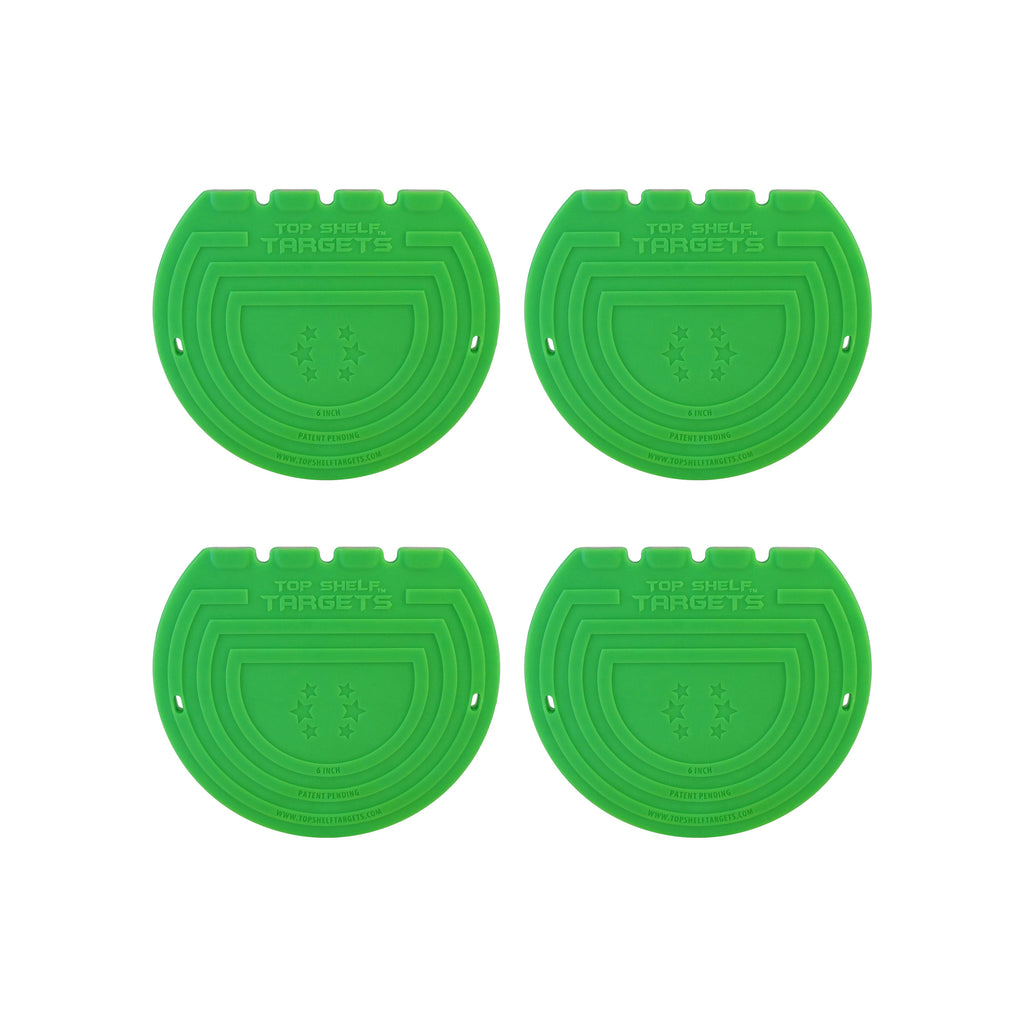 6-inch Magnetic Shooting Targets (4-Pack Set)