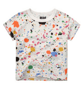 Paint Points Spandex/Cotton T-shirt