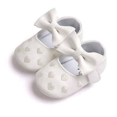 PU Leather Moccasins Mocs with Bow
